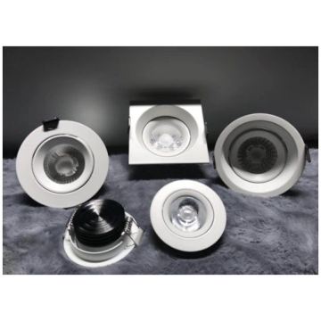 Lighting Solution Dimmable 7W LED Downlight