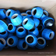 PE compression fittings equal coupling reducer for hdpe pipe