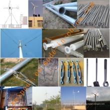 5kw Wind Power Generator System für Haus oder Farm Gebrauch Off-Grid System GEL BATTERIE 12V100AH