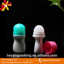 50ml de rollo de plástico desodorante botella vacía