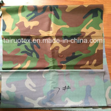 600d Camouflage Printed Oxford for Military Uniform Fabric