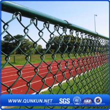 PVC Revestido Chain Link Fence para Playground