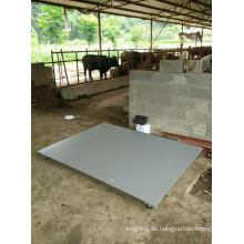 Tierwaage für Schaf 1X1m 3ton mit Schienen