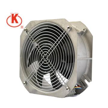 24 voltajes 250 mm de alto volumen eléctricos potentes ventiladores axiales pequeños EC