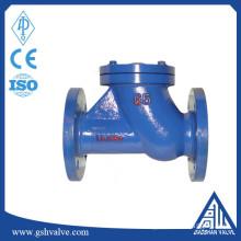 cast iron ball float flange end check valve