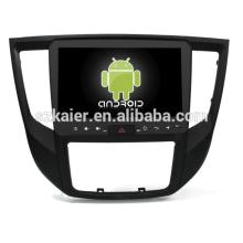 ¡Ocho nucleos! DVD del coche de Android 8.1 para MITSUBISHI LANCER 2017 con la pantalla capacitiva de 9 pulgadas / GPS / Mirror Link / DVR / TPMS / OBD2 / WIFI / 4G