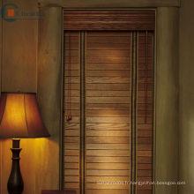Faux stores en bois, véritables stores en bois, basswood blinds