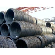 Primera calidad de alambre de acero laminado en caliente en grado de bobina SAE1008