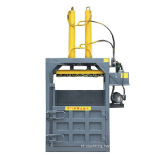 Baler machine for used clothing/ baling press machine/used clothes compress baler