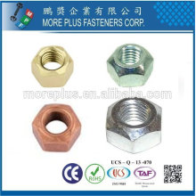 DIN 6925 ISO 7042 Sechskantmuttern MIT Metallklemmteil Tipo de torque predominante Tuerca hexagonal Tuercas de metal