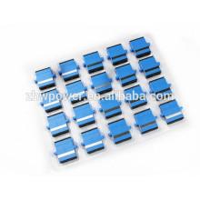 SC UPC flange tipo sm dx adaptador / adaptador de fibra ótica