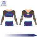 Crop Top Cheerleading Uniform