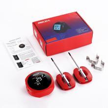digitales sofort lesbares Bluetooth-Fleischthermometer Schwarzlicht