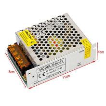 Nouveau pilote d'alimentation d'énergie de commutateur d'AC110V / 220V à DC12V 5A 60W pour la bande LED