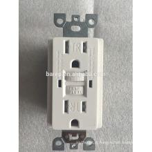 Tomada de parede GFCI Safety Circuit 15A 125V