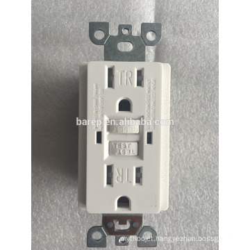 GFCI Safety Circuit 15A 125V wall outlet socket