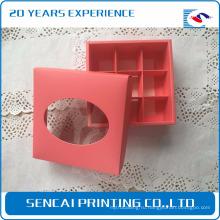 Популярная бумажная коробка упаковки Sencai торт