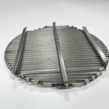 Perforierte Siebplatte aus rundem Edelstahl