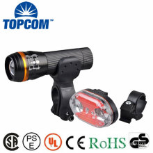 Rechargeable Battery Powered Super Bright LED Bike Lights