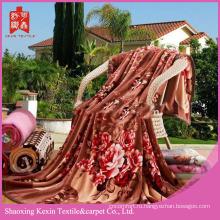 Двухстороннее дешевое 800г / 850г / 900г фланелевое флисовое одеяло