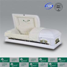 Amerikanischen weißen farbigen Särge Särge für Beerdigung Feuerbestattung