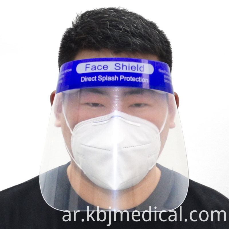 plastic face protection