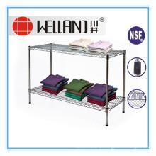 Pesados resistentes arame supermercado prateleira rack (cj753590a2c)