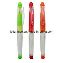 Promoción muestras gratuitas de bolígrafo de plástico (LT-D005)