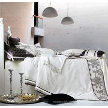 2015 Juego de cama de lujo del bordado del jacquard del nuevo producto y sistema del consolador China Textil
