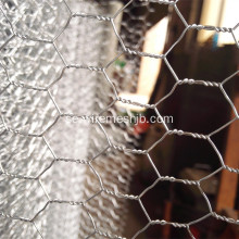 1mx50m Hot Dipped Galvaniserad Hexagonal Wire Netting