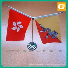 Suporte de bandeira da parte superior de tabela / bandeira feita sob encomenda