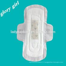 Serviettes hygiéniques Anion Super Doux De Shenzhen Fabricant