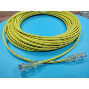 Cable Ethernet delgado CAT6 para cable de alimentación PS4