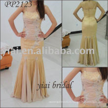2011 новое прибытие высокого качества бесплатная доставка милая бисером платье PP2123