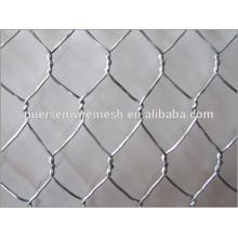 Acoplamiento hexagonal anping de la alta calidad 1 pulgada galvanizado acoplamiento de alambre hexagonal