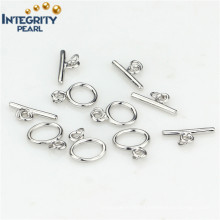 Bracelet Clasp 925 Sterling Silver Toggle Clasp Necklace Clasp Lock
