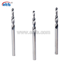 Solid Carbide Step Twist Drill Bits for Cutting Wood and Aluminum