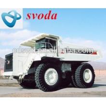 non-highway Terex TR100 mining dump truck