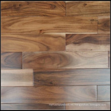 Piso de madera sólida de acacia de hoja pequeña / piso de madera dura