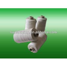 100% Baumwolle vergastes merzerisiertes Garn