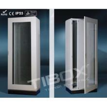 2015 Tibox One Piece Floor Stand Cabinet with Plexiglass/Inner Door
