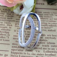 2015 Anillo de plata de la joyería de la manera 925 de la mujer caliente de la venta (R10517)