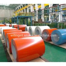 2016 Nova cor de alta qualidade revestido bobina de aço PPGI fornecedores