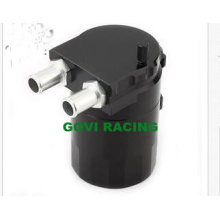 Aluminum Black Oil Reservior Catch Can Tank with Brether Baffled