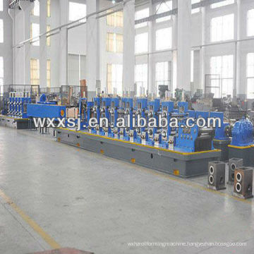 High frequency straight seam welded tube production line