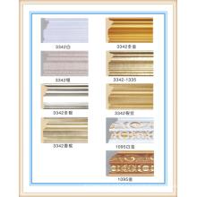 moldeado de fábrica / moldeado de PS / moldura de corona del armario de cocina