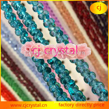 Knochen Perlen, neue Design Glasperlen, Erdnuss Glas Perlen, Mode Kristall Perlen Großhandel