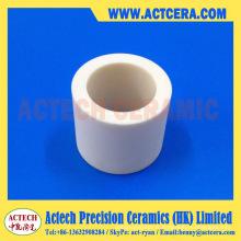 Personnalisé d'usinage anneau/manchon/Tube en céramique d'alumine
