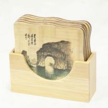 estera de mesa de bambú