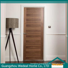 Modern Flush Plywood MDF Doors with Wood Veneer Quality